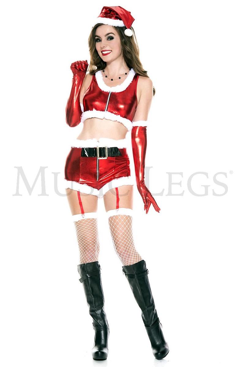 【Music Legs】 70632 Hot Santa Babe ミュージックレッグス レディース ホットサンタベイブ コスチューム