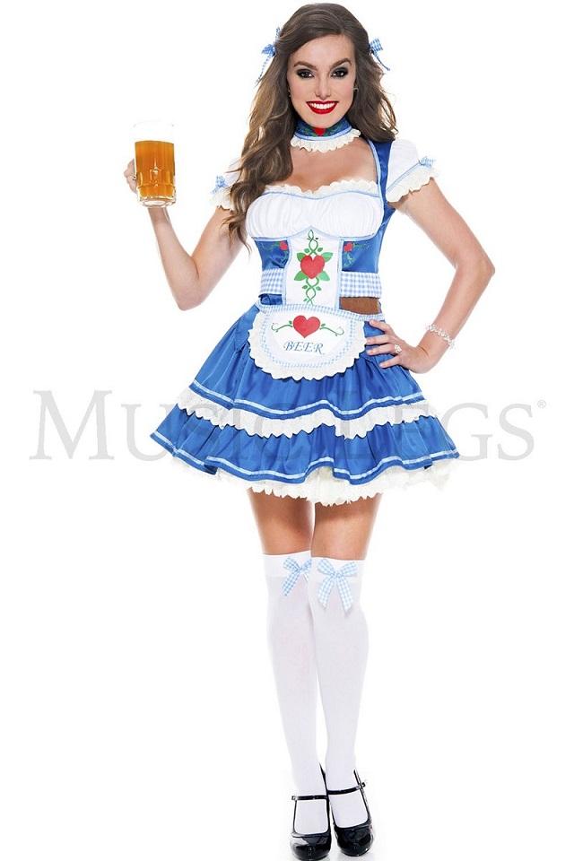 【Music Legs】 70648 Loving Beer Sweetie ミュージックレッグス レディース ビアガール コスチューム
