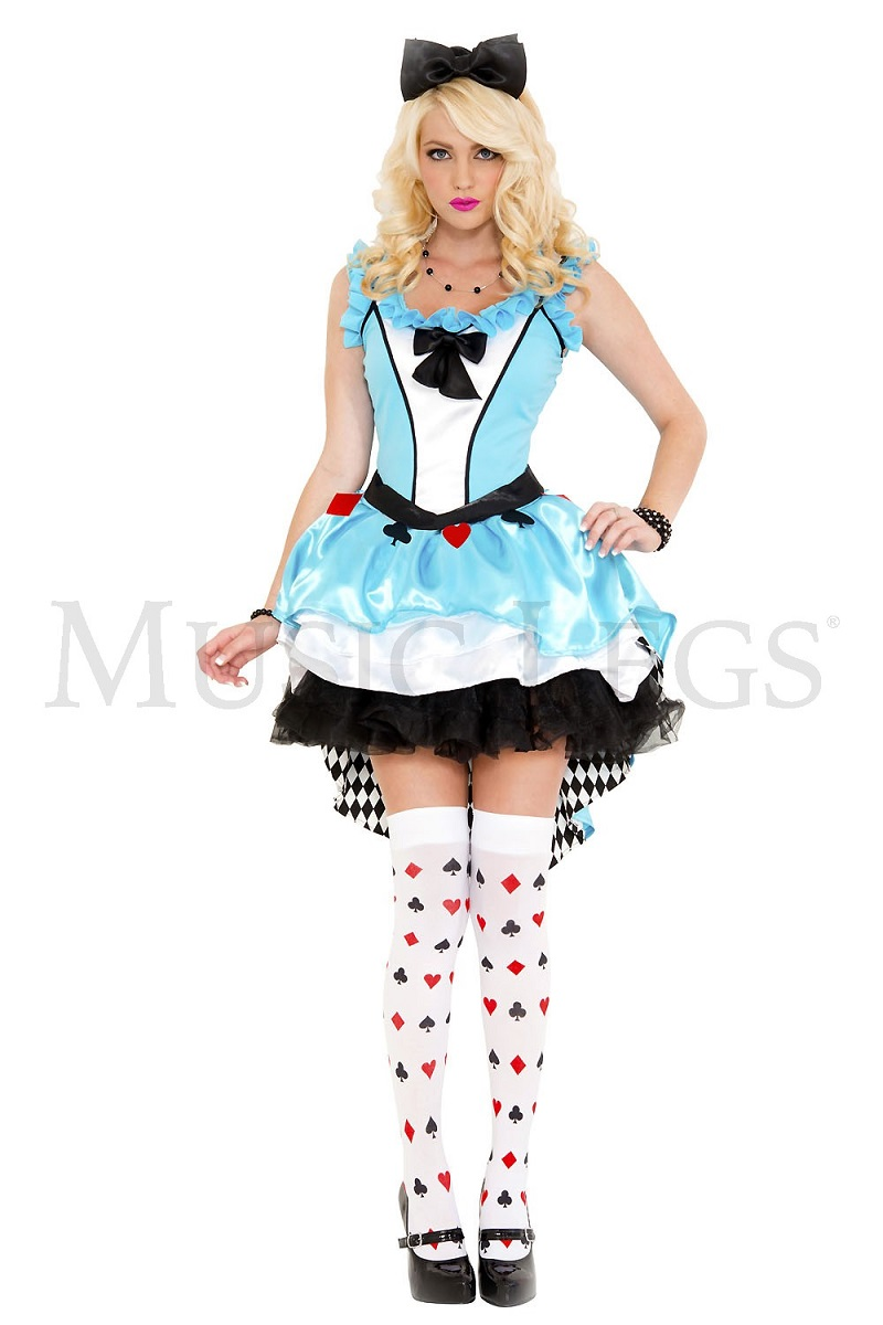 """【Music Legs】 70672 Fairytale Fancy Alice ミュージックレッグス レディース """"不思議の国のアリス""""ファンシーアリス コスチューム"""