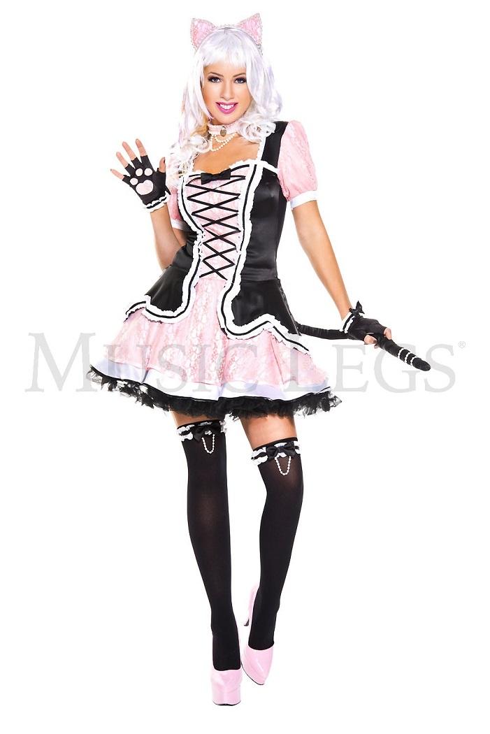 【Music Legs】 70762 Kitty Kat ミュージックレッグス レディース キティキャット コスチューム