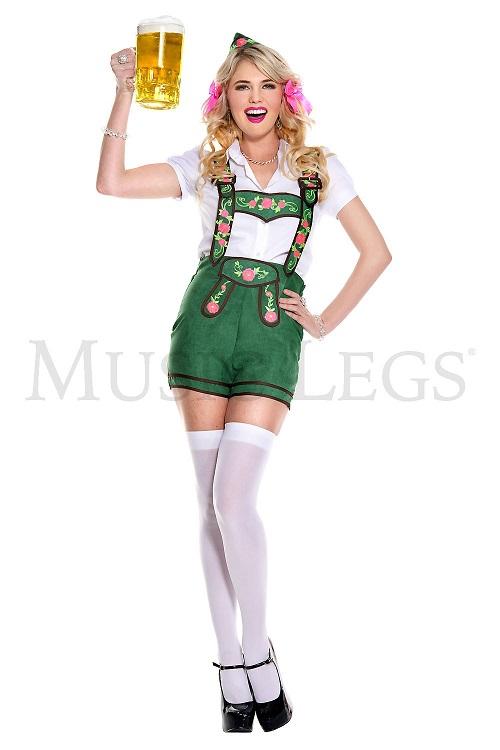 【Music Legs】 70777 German Beer Beauty ミュージックレッグス レディース オクトーバーフェストビアビューティー コスチューム