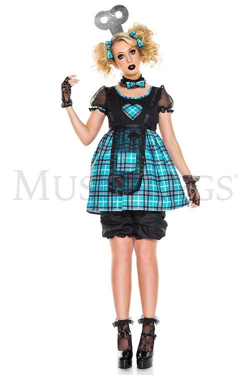 【Music Legs】 70830 Wind-up Doll ミュージックレッグス レディース ウィンド-アップドール コスチューム