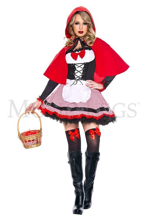 【Music Legs】 70834 Sweet Riding Hood ミュージックレッグス レディース スイート 赤ずきん コスチューム