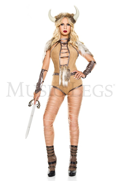【Music Legs】 70873 Viking Warrior ミュージックレッグス レディース バイキング ウォーリアー コスチューム