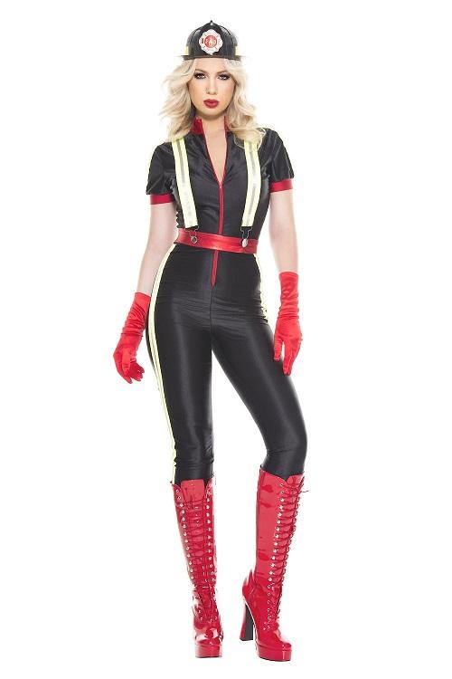 【Music Legs】 70894 Hottest Firefighter ミュージックレッグス レディース セクシーファイアファイター 消防士 コスチューム