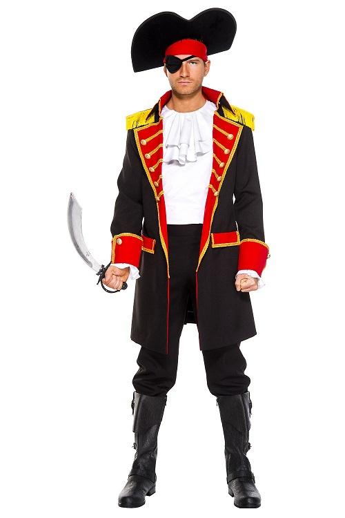 【Music Legs】 76027 Pirate Captain ミュージックレッグス メンズ パイレーツキャプテン 海賊 コスチューム