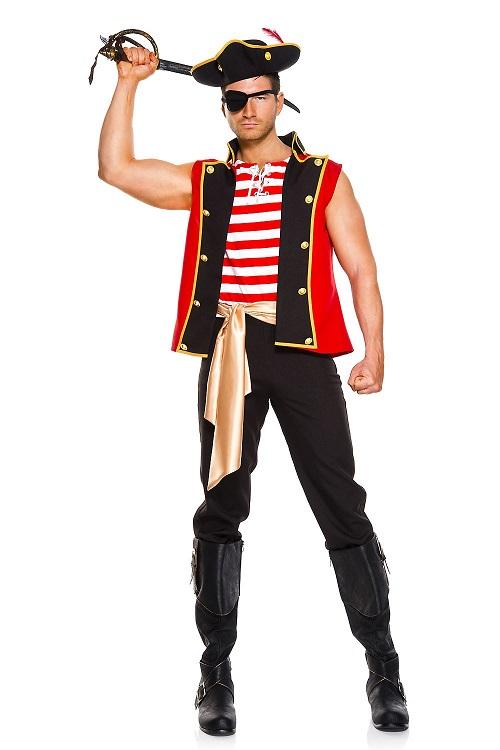 【Music Legs】 76028 Plunderous Pirate ミュージックレッグス メンズ パイレーツ 海賊 コスチューム
