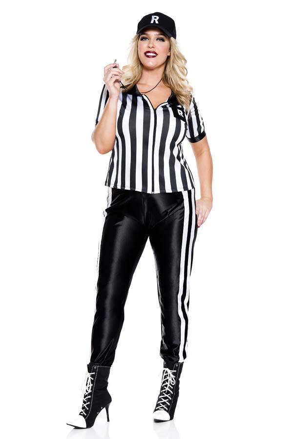 【Music Legs】 70900Q Half Time Referee 〖大きいサイズ〗 ミュージックレッグス レディース ハーフタイムレフリー コスチューム