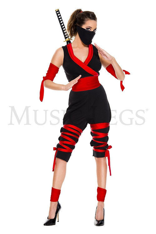 【Music Legs】 70809 FIERCE NINJA ミュージックレッグス レディース 忍者ガール コスチューム