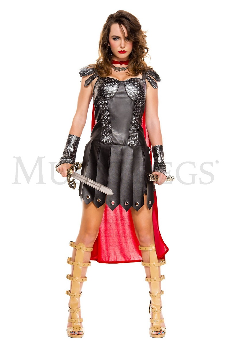 【Music Legs】 70612 Medieval Warrior Queen ミュージックレッグス レディース 中世の戦士 コスチューム