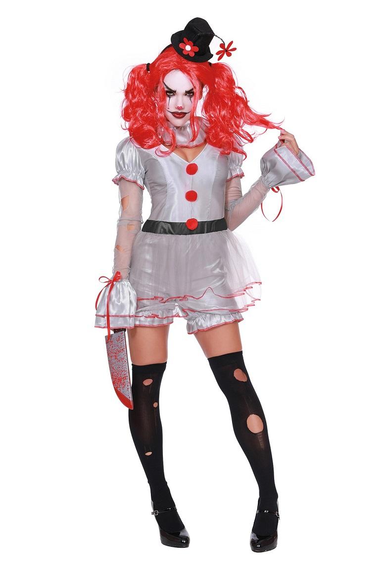 【Dreamgirl】 11637 WICKED CLOWN ドリームガール レディース 邪悪なピエロ コスチューム