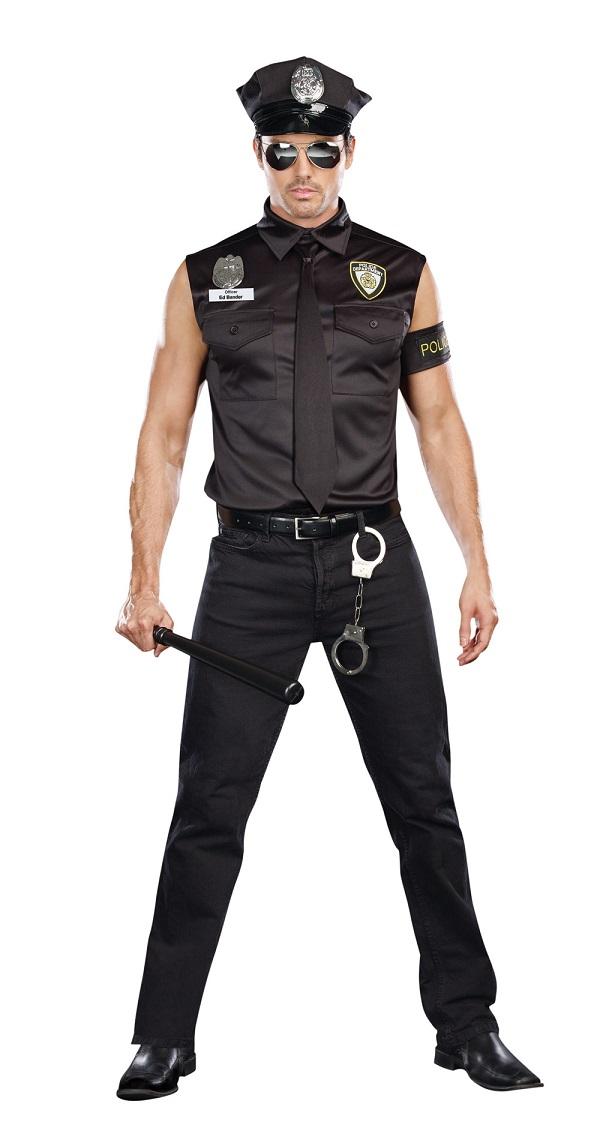 【Dreamgirl】 8817 DIRTY COP OFFICER ED BANGER ドリームガール メンズ ダーティー コップ オフィサー/汚職警官 コスチューム