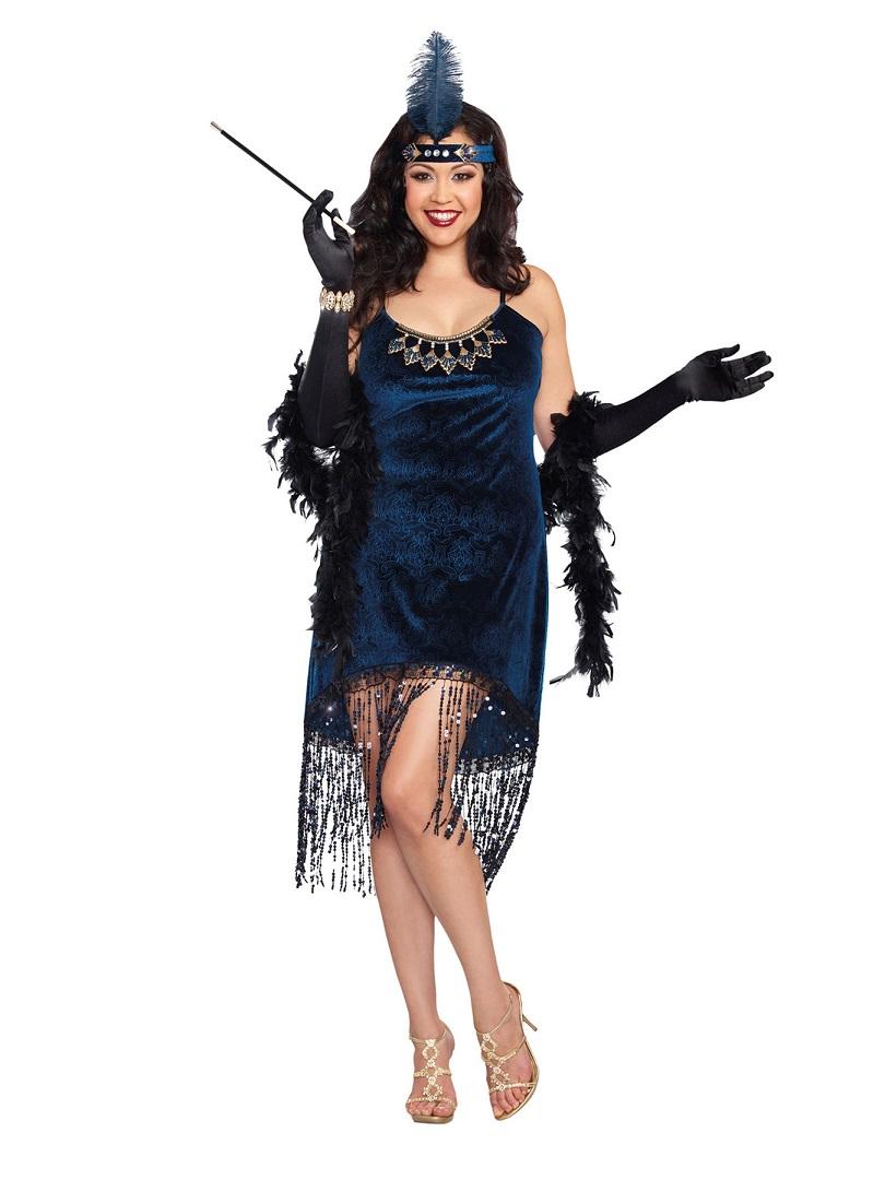 【Dreamgirl】 10210X DOWNTON DOLLドリームガール 『大きいサイズ』レディース 1920代ゴージャス フラッパー コスチューム
