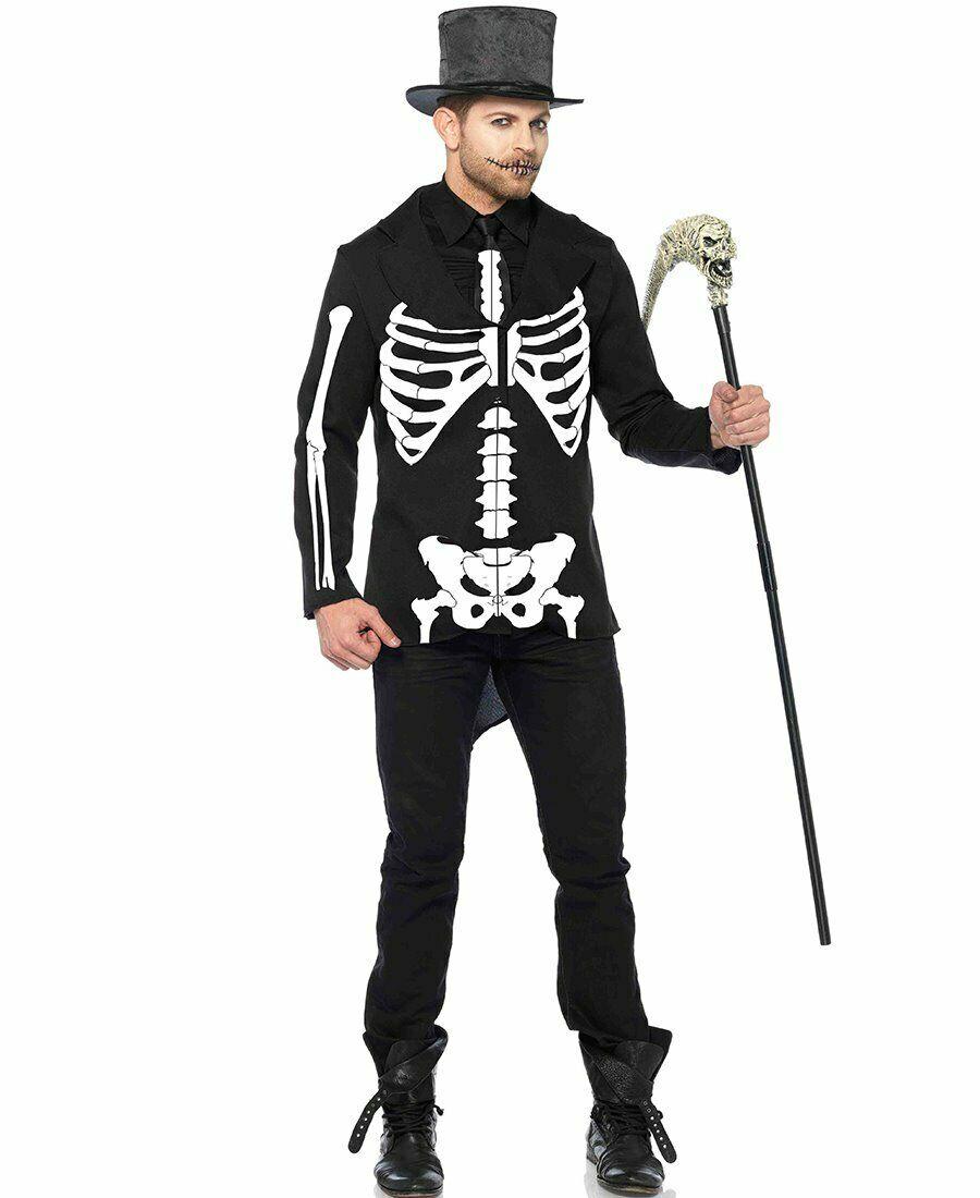 Leg Avenue レッグアベニュー 85601 Bone Daddy ボーン.ダディ Skeleton 定番の人気シリーズPOINT 国内在庫 ポイント 入荷 スケルトン Costume メンズ コスチューム