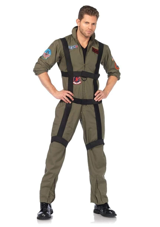 Leg Avenue レッグアベニュー TG85513 Top Gun Men's フライトスーツ コスチューム 空挺部隊 セール メンズ Paratrooper トップガン 期間限定今なら送料無料