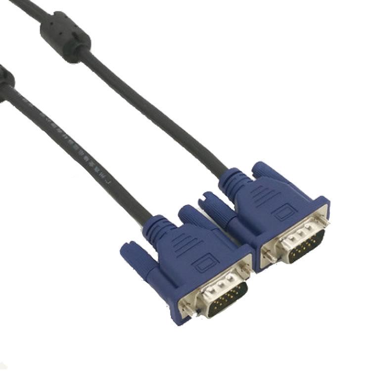 VGAケーブル 液晶テレビ 贈答品 ディスカウント コンピューター モニター接続用 VGA130 ミニD-Sub 1.3M 15pin