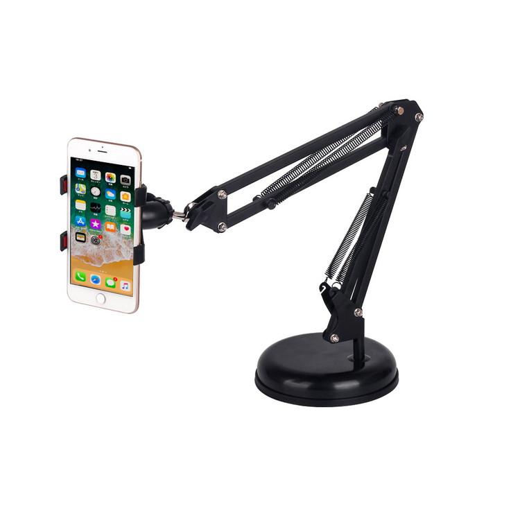 iPhone/iPad スマホ/タブレット対応 卓上アームスタンド  STD2IN1