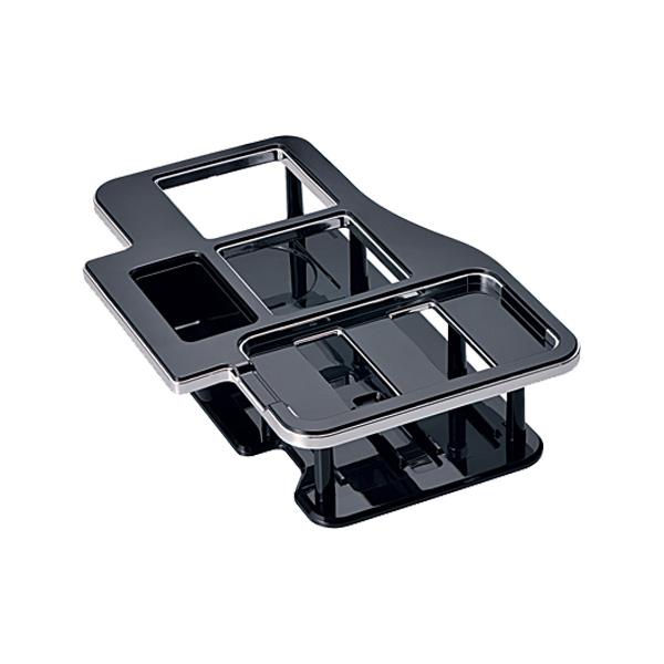 ハイエース レジアスエース 200系 ドリンクホルダー 専用設計ドリンクテーブル ブラック/カーメイト NZ516/