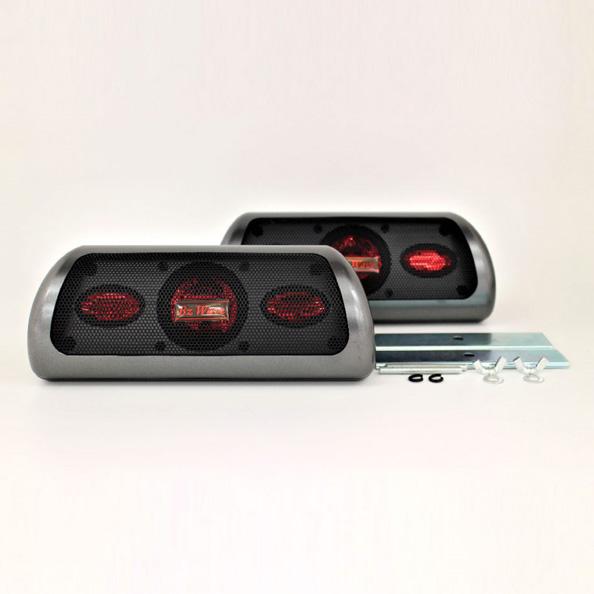 あす楽対応 据置型 置き型 2WAYスピーカー 車 最大50W リアトレイ DC12V車用 秀逸 ブレイス 増設 PL-250 ファクトリーアウトレット ラゲッジルーム