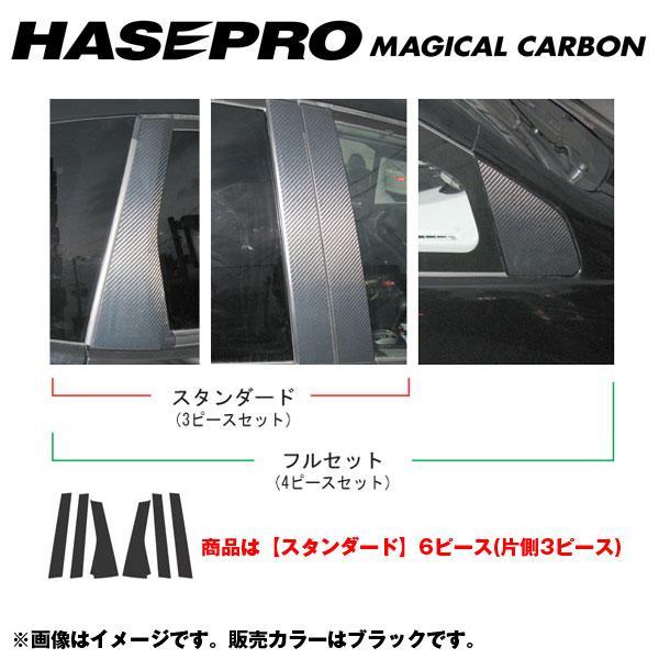 マジカルカーボン ピラーセット スタンダード フィット GE6~9(H19/10~)/フィット HV GP1(H22/10~)/HASEPRO/ハセプロ:CPH-42