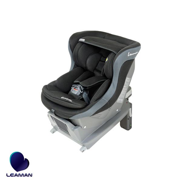 新生児対応チャイルドシート ブラック 0歳~4歳頃まで シート・ベース分離 ヨーロッパ基準 レスティロ ISOFIX FA004 30004 リーマン