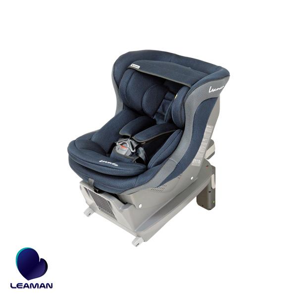 新生児対応チャイルドシート ネイビー 0歳~4歳頃まで シート・ベース分離 ヨーロッパ基準 レスティロ ISOFIX FA005 30005 リーマン