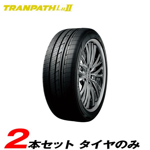 時間指定不可 245/45R19 102W 2本セット 15~16年製 ラジアルタイヤ トランパスLU2 トーヨー