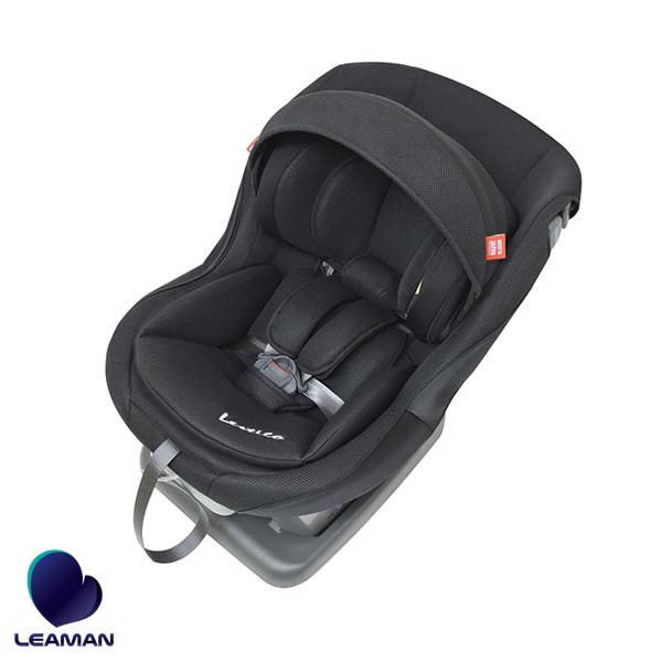 ブラック 79109 日本製 純国産 新生児から4歳 車 子供 軽量 3Dメッシュ 洗える チャイルドシート レスティロ2 CD109 リーマン/LEAMAN