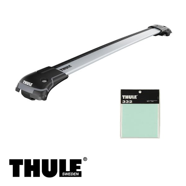 THULE/スーリー ランドローバー ディスカバリースポーツ ルーフレール付 '14~ キャリア 車種別セット/9583