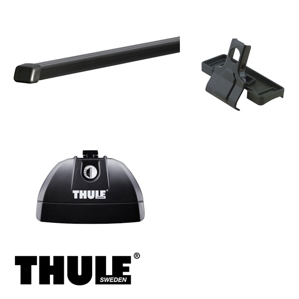 THULE/スーリー メルセデス・ベンツ CLA '13~ キャリア 車種別セット/753+761+3125