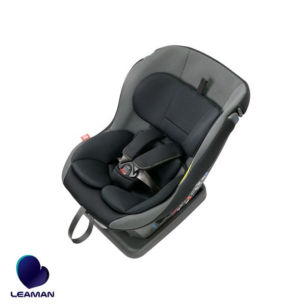 チャイルドシート ネディアップ グレー 国産 日本産 新生児対応 ~4歳頃まで 軽量6.3kg 低座面 乗せ換えラクラク/リーマン CD003