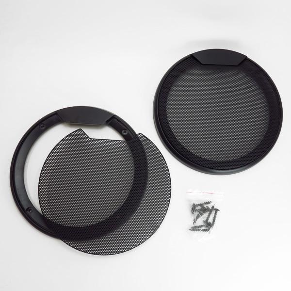 スピーカーグリル 16cmスピーカー用 2枚入り 送料無料激安祭 スピーカーネット カバー PL-031 ウーファーボックス メッシュ エンクロージャーに ブレイス 限定特価