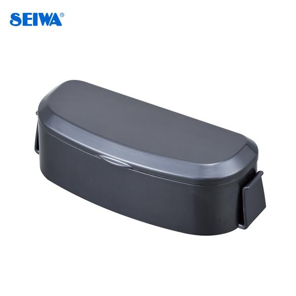 コイン カードホルダー チケット等 収納 車内 セールSALE%OFF 便利 WA58 取り外し簡単で盗難防止にも 品質検査済 SEIWA フタ付 セイワ
