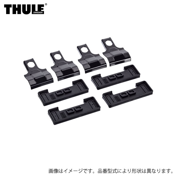 THULE/スーリー 車種別取付キット 金具 トヨタ ランクル100 ルーフレール無し UZJ100W/HDJ101K THKIT 1288