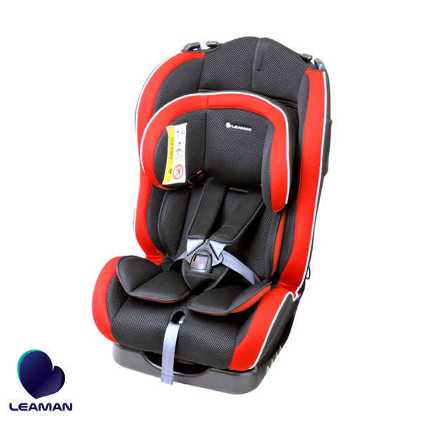 リーマン/LEAMAN チャイルドシート カイナ ブラック 20002 新生児から7歳頃 車 ジュニア 子供 軽量 3Dメッシュ コンパクト CG002