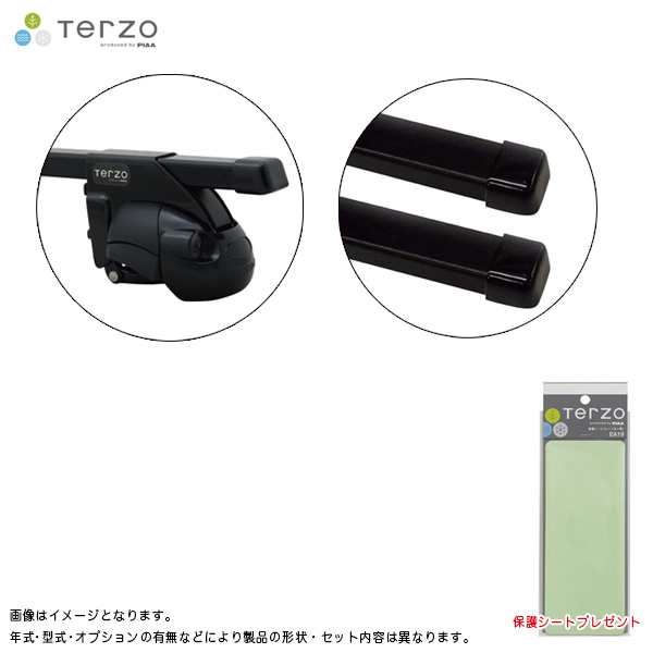 PIAA/Terzo キャリア車種別専用セット マツダ フレアワゴン MM53S H30.2~ EF11BL + EB3 & EA19