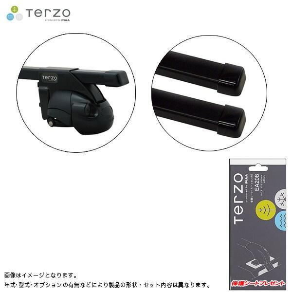 PIAA/Terzo キャリア車種別専用セット スズキ Kei HN11S/21S/22S H10.10~H21.9 EF11BL + EB1 & EA19