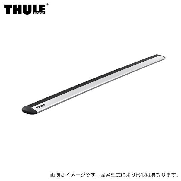 THULE/スーリー ウイングバーエヴォ 108cm WingBar Evo シルバー 2本セット ベースバー ピボット式 キャリア 7111