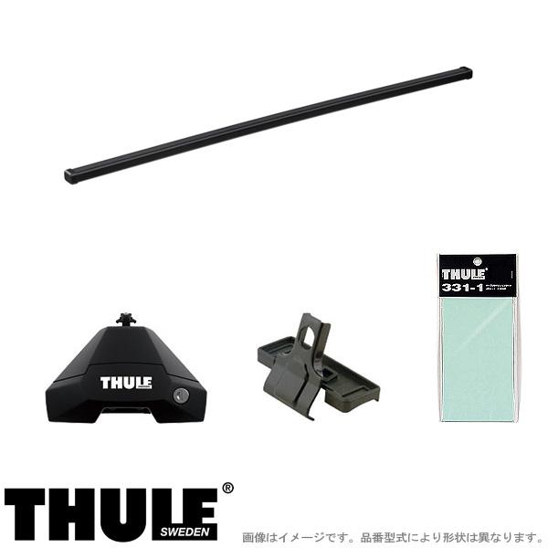 THULE/スーリー キャリア 車種別セット AUDI/アウディ A1 スポーツバック 2019~ 7105+7123+5205