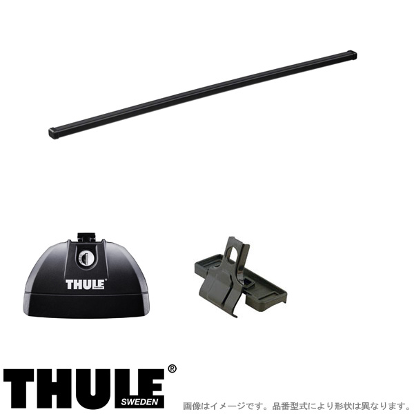 THULE/スーリー キャリア 車種別セット メルセデスベンツ CLA 4ドア 2019~ 753+7122+3125