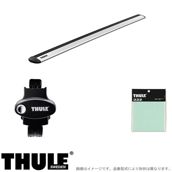 THULE/スーリー キャリア 車種別セット CITROEN/シトロエン C3エアクロス ルーフレール付 2019~ A8HN05 775+7112