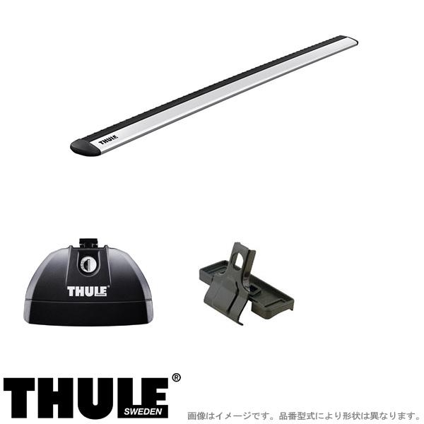 THULE/スーリー キャリア 車種別セット PEUGEOT/プジョー 508 ワゴンダイレクトレール付 2019~ 753+7113+4108