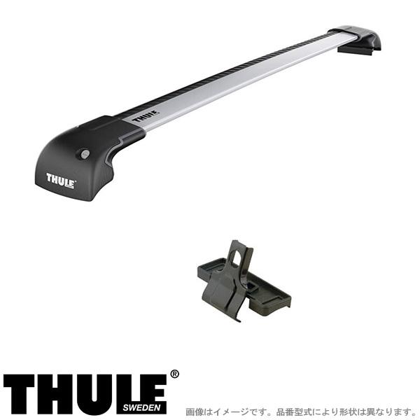 THULE/スーリー キャリア 車種別セット トヨタ カローラツーリング ダイレクトルーフレール付 R1/9~ ZWE21#, ZRE21# 9591+4111