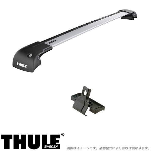 THULE/スーリー キャリア 車種別セット BMW 3シリーズツーリング (G21)ダイレクトルーフレール付 2019~ 9592+4023