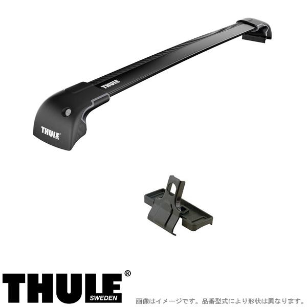 THULE/スーリー キャリア 車種別セット トヨタ カローラツーリング ダイレクトルーフレール付 R1/9~ ZWE21#, ZRE21# 9591B+4111