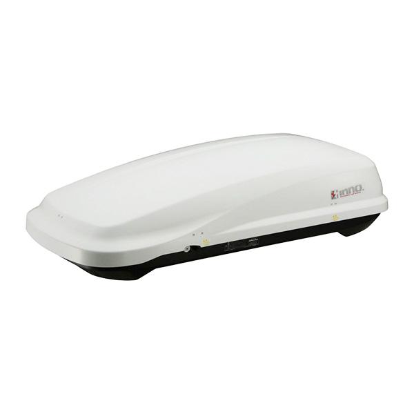 INNO ルーフボックス リッジトランク240 ホワイト コンパクトカー・軽自動車等 収納 小型 エアロバー・スクエアバー対応 BRW-240WH