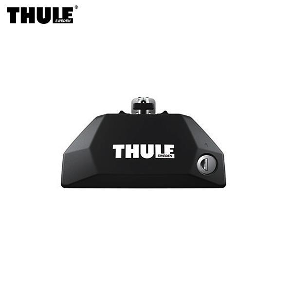 THULE/スーリー Evo フラッシュレール用フット ダイレクトルーフレール付車 ワンキーロック付属 TH7106