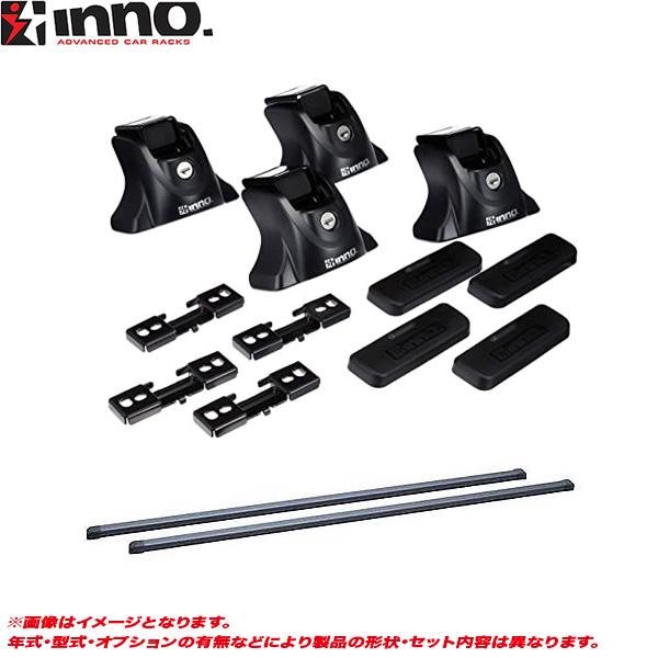 INNO/イノー キャリア車種別セット RAV4 50系 H31.4~ フラッシュレール付 IN-XP + IN-B127 + TR182