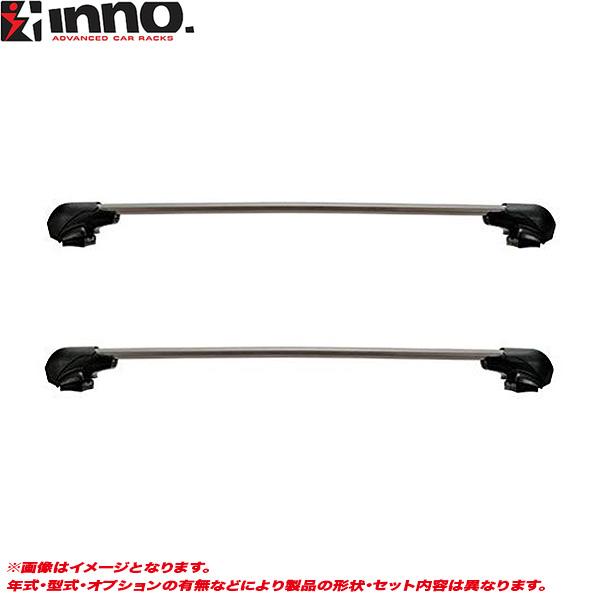 INNO/イノー キャリア車種別セット VW/フォルクスワーゲン ゴルフVII AU系 H25.6~ 5ドア XS201 + XB100S + XB100S + K853
