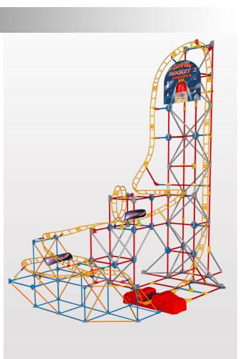 K'Nex  ケネックス/ ロケットコースター2 セット!Rippin' Rocket 2 Coaster 日本未発売(予約販売)